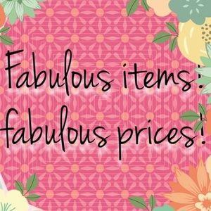 Fabulous Prices on my stuff